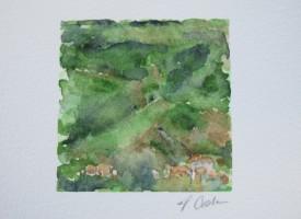 Croatia Landscape, Theresa Cook