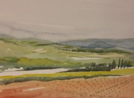 Provence Landscape, Carole Katz