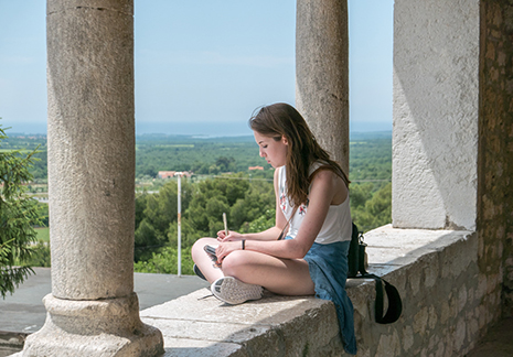 Exploring Istria: Painting, Drawing and Mixed-Media in Croatia with Louise Freshman Brown